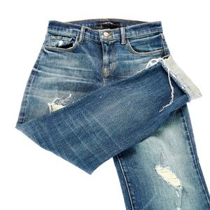 J Brand Maria Straight Jeans - Size 25